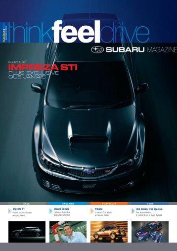 Edition n°12 - Subaru