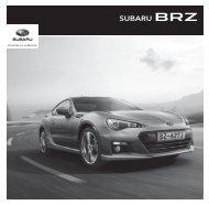 Caractéristiques et Equipements BRZ - Subaru