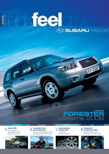 Edition n°03 - Subaru