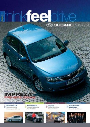 Edition n°11 - Subaru