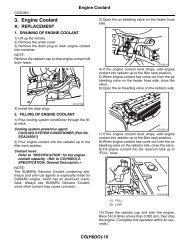 230452 List of Diagnostic Trouble Code (DTC) - Subaru