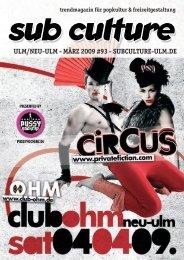 03/2009 - Sub Culture Ulm