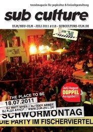 07/2011 - Sub Culture Ulm