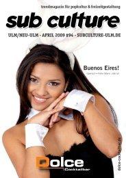 04/2009 - Sub Culture Ulm