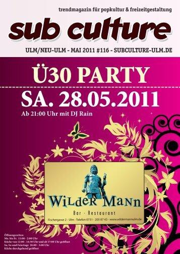 05/2011 - Sub Culture Ulm