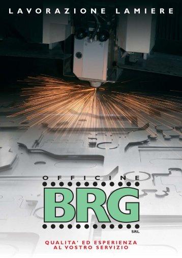 BRG catalogo lamiere - Officine BRG S.r.l.