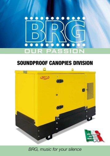 SOUNDPROOF CANOPIES DIVISION - SUBFORITALIA