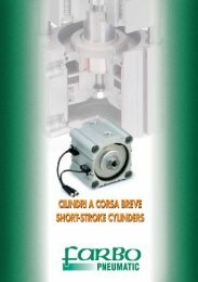 Short stroke cylinders - SUBFORITALIA
