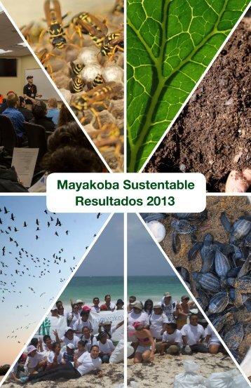 Mayakoba Sustentable Resultados 2013