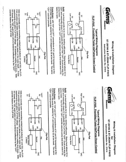Wiring And Installation Diagram