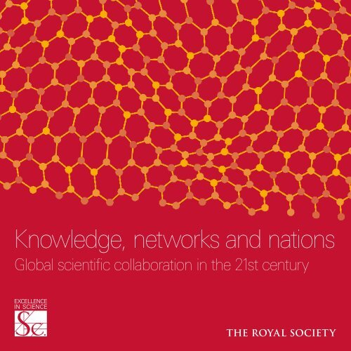 'Knowledge, Networks and Nations' report - The Royal Society