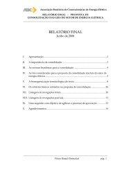 RELATÓRIO FINAL - ABCE