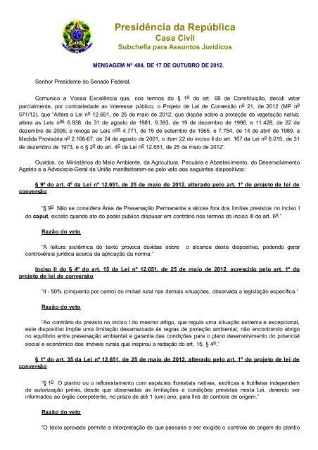 Codigo Florestal - ABCE