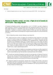 Presidente da República sanciona, com vetos, o Projeto de ... - ABCE