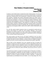 Riscos Tributários e a Prevenção de Acidentes Riscos ... - ABCE