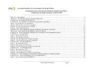 AnexoII Consolidação comparada - ABCE