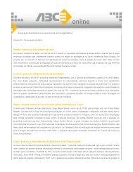 Baesa: estímulo a projetos sociais Coelce: parceria ... - ABCE