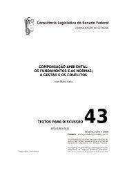 compensação ambiental: os fundamentos e as normas - ABCE