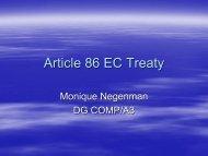 Article 86 EC Treaty