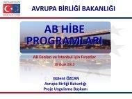 Proje Uygulama Başkanlığı - Avrupa Birliği Bakanlığı