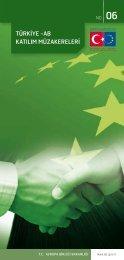 türkiye -ab katılım müzakereleri - Avrupa Birliği Bakanlığı