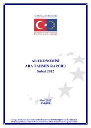 AB EKONOMİSİ ARA TAHMİN RAPORU Şubat 2012 - Avrupa Birliği ...
