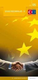 SİYASİ REFORMLAR - II - Avrupa Birliği Bakanlığı