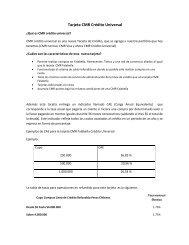 Tarjeta CMR Crédito Universal - CMR Falabella