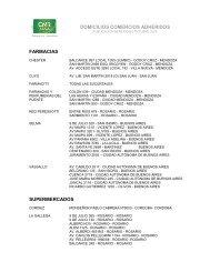 Listado de Comercios - CMR Falabella
