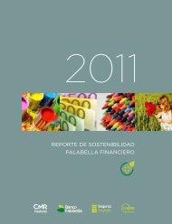 reporte de sostenibilidad falabella financiero - CMR Falabella