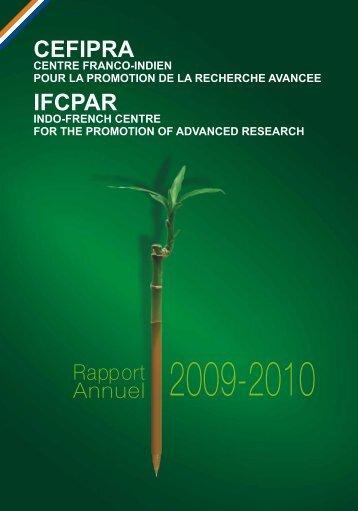 IFCPAR AR (ENGLISH) for CD - cefipra