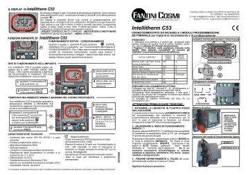 Istruzioni c 46a fantini cosmi for Fantini cosmi ch115