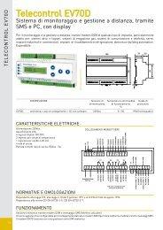 Scheda EV70D - Fantini Cosmi
