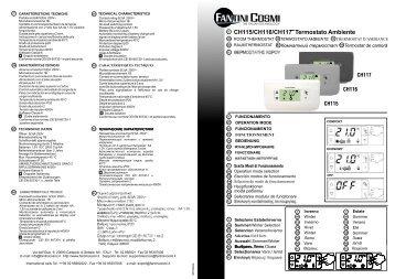 C50 fantini cosmi for Fantini cosmi ch115