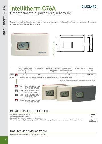 C installazione i for Fantini cosmi c51t