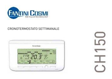 Istruzioni ch115 rf fantini cosmi for Cronotermostato fantini cosmi ch141