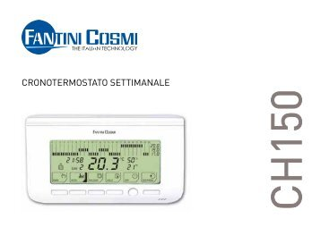 Istruzioni ch115 rf fantini cosmi for Fantini cosmi ch141