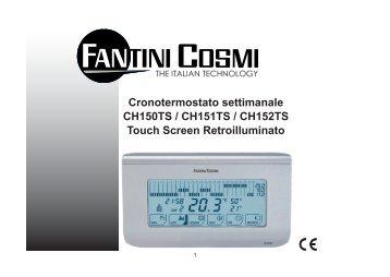 Istruzioni c45 fantini cosmi for Fantini cosmi c51t