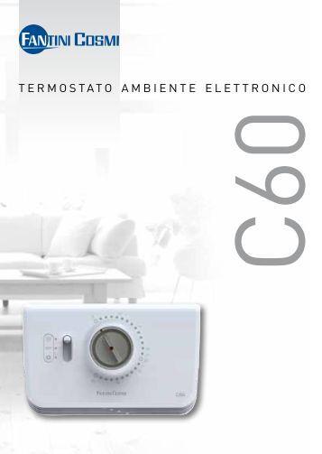 Istruzioni c55 fantini cosmi for Istruzioni termostato fantini cosmi