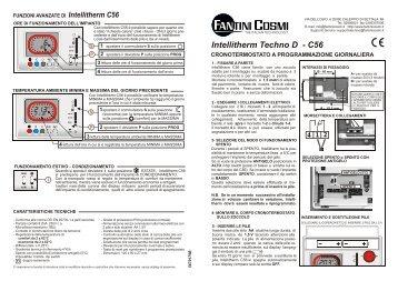 Istruzioni c51t fantini cosmi for Fantini cosmi intellitherm c57
