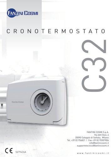 Istruzioni c51 fantini cosmi for Istruzioni termostato fantini cosmi