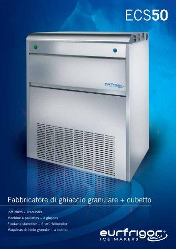 Fabbricatore di ghiaccio granulare + cubetto - Friorganic