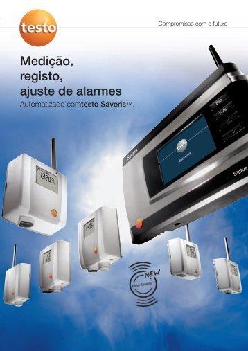 Medição, registo, ajuste de alarmes - Friorganic