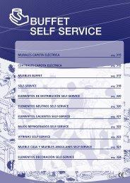 BUFFET SELF SERVICE - Friorganic