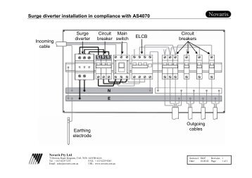 surge diverter installation in compliance with as4070 novaris surge diverter wiring diagram 28 images nepsi medium voltage surge diverter wiring diagram at highcare.asia