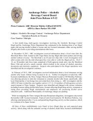 Anchorage Police – Alcoholic Beverage Control Board Joint Press ...