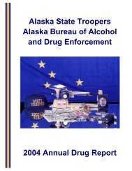 Alaska State Troopers Alaska Bureau of Alcohol and Drug ...