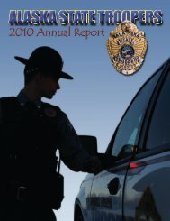 2010 Annual Report (.pdf) - Alaska Department of Public Safety ...