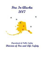 2007 Fire in Alaska - Alaska Department of Public Safety - State of ...