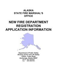 Complete FD Registration Information Packet - Alaska Department ...
